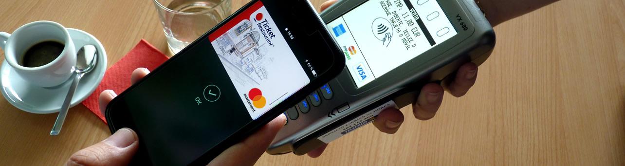pago con Ticket Restaurant por móvil