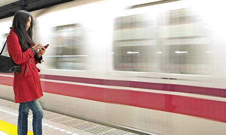 Pagar metro con Ticket Transporte - Edenred