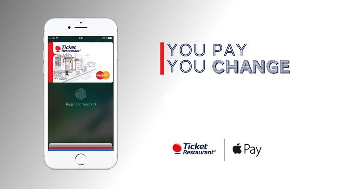 Lanzamiento Apple Pay y Ticket Restaurant
