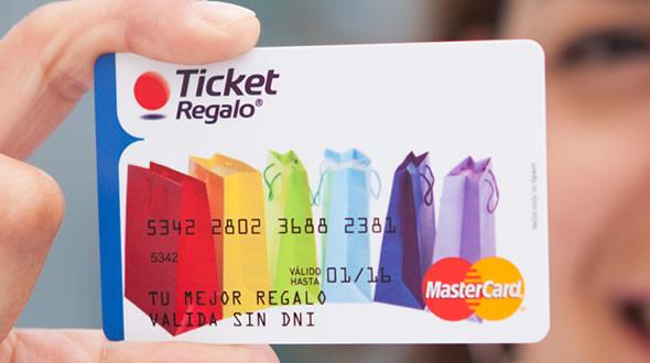 Ticket Regalo original - Edenred