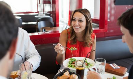 Comer en restaurantes con Ticket Restaurant